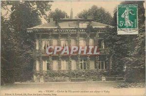 Ansichtskarte AK Vichy Chalet de l'Empereur pendant son retour a vichy