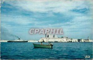 Moderne Karte Marseille  le chateau d'If l'arivee d'un courrier