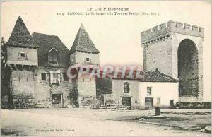 Ansichtskarte AK Le lot pittoresque Cahors la Barbacane et le tour des pendu