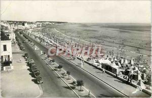 Moderne Karte les sable d'Olonne vendee la plage