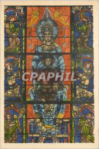 Ansichtskarte AK Cathedrale de Chartres Notre Dame de la belle verriere XII e siecle