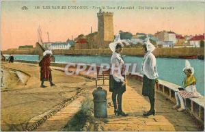 Ansichtskarte AK Les Sables d'Olonne Vers la Tour d'Arundel Un brin de causette Folklore