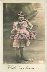 Ansichtskarte AK Mille bons baisers Enfant