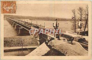 Ansichtskarte AK Briare Loiret Le Pont Canal