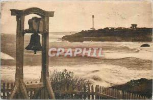Ansichtskarte AK Biarritz Cloche d'Alarme