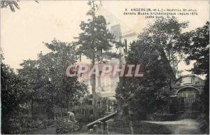 Ansichtskarte AK Angers M et L Hopital St Jean devenu Musee Archeologique depuis 1874