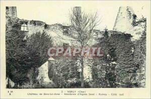 Moderne Karte Vorly Cher Chateau de Bois Sir Ame