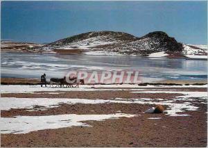 Moderne Karte Bolivia Sur Lipez Laguna Tototal