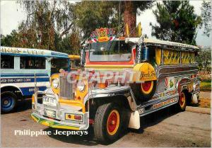 Moderne Karte Philippine Jeepneys