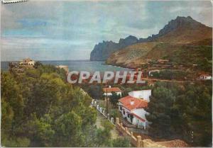 Moderne Karte Cala San Vicente Mallorca