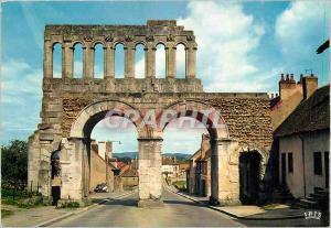 Moderne Karte Autun Porte romaine dite d'Arroux (Hauteur 17 m)