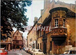 Moderne Karte Dijon (Cote d'Or) ville d'Art la Rue Verrie et son echauguette du XVIe s