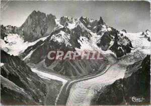 Moderne Karte Chamonix (Hte Savoie) Mer de Glace (alt 1913m)