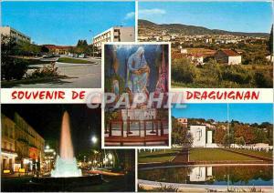 Moderne Karte Souvenir de Draguignan Les nouveaux Quartiers vue de Draguignan