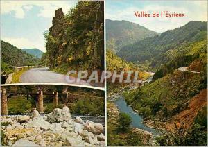Moderne Karte Vallee de l'Eyrieux (Ardeche)