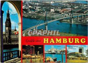 Moderne Karte Grube aux Hamburg