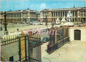Moderne Karte Couleurs et Lumiere de France Paris Place de la Concorde Les Hotel de Gabriel