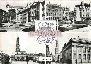 Moderne Karte Arras Le Musee Place Marechal Foch La Petite Place Le Palais de Justice Lion