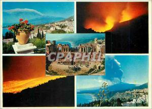 Moderne Karte Taormina