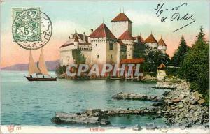 Ansichtskarte AK Chillon