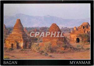 Moderne Karte Bagan Myanmar