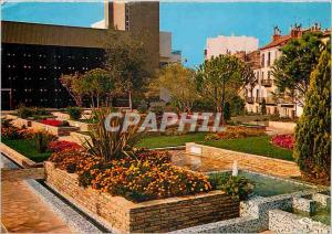Moderne Karte Draguignan Var Les jardins de la maison de la culture