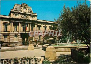 Moderne Karte Montpellier Herault La Place des Martyrs de la Resistance devant l'Hotel de la Prefecture