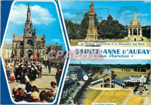 Moderne Karte Sainte Anne d'Auray son Pardon