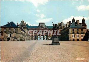 Moderne Karte Luneville Meurthe et Moselle Le Chateau et Statue du Marechal Lasalle