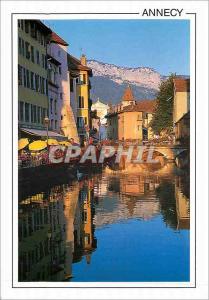 Moderne Karte Annecy Haute Savoie France La Vieille Ville