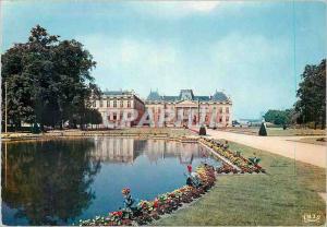 Moderne Karte Luneville Meurthe et Moselle Le Versailles Lorrain