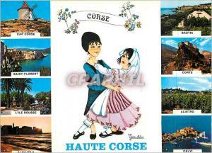 Moderne Karte Couleurs et Lumiere de France La Corse Oasis de Beaute