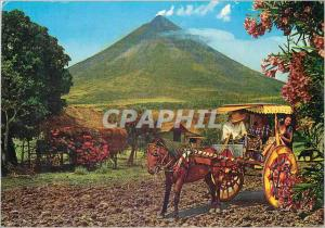 Moderne Karte The Philippine Calesa is a Horse drawn carriage which dates back from the Spanish