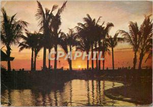 Moderne Karte Treasure Island of the Philippine Plaza at sun
