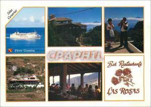 Moderne Karte Isla Canarias Bar Restaurante Las Rosas