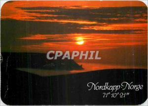 Moderne Karte Nordkapp Norge