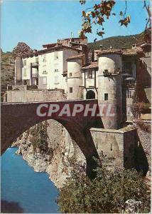 Moderne Karte Entrevaux Alpes de Hte Provence Village medieval fortifie par Vauban