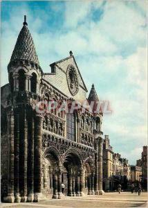 Moderne Karte Poitiers Vienne L'eglise Notre Dame la Grande chef d'ceuvre de l'art romain poitevin
