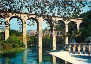 Moderne Karte Fontaine de Vaucluse l'Aqueduc sur la sorgue