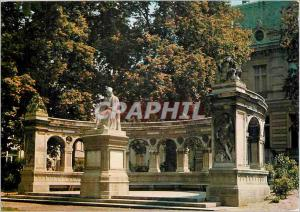 Moderne Karte Valenciennes (Nord) Le Monument Froissart