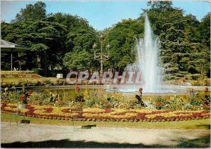 Moderne Karte Toulouse (Hte Gar) Jardin du Grand Rond Jet d'eau et massif de Fleurs