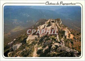 Moderne Karte Les Chateau de Cathares chateau de Peyrepertuse