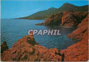 Moderne Karte Cote d'Azur La Corniche d'Or Les Rochers de Trayas