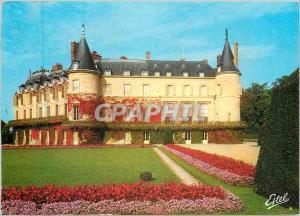 Moderne Karte Rambouillet (Yvelines) Le Chateau residence presidentille