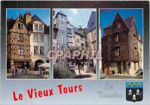 Moderne Karte Les Merveilles du Val de Loire Tours (I et L) La Vieille ville et sses maisons a pans de bois de