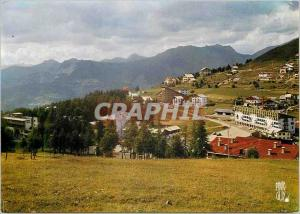 Moderne Karte Valberg Alpes Maritimes La Chaine des Alpes