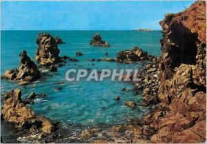 Moderne Karte Le Cap d'Agde Herault Au fond Le fort Brescou