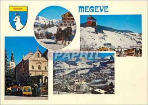 Moderne Karte Megeve Hte Savoie