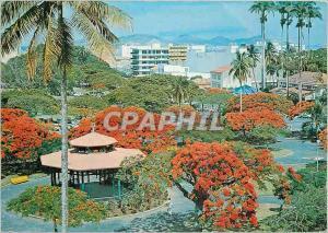 Moderne Karte Nouvelle Caledonie Noumea Place des Cocotiers