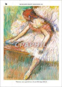 Moderne Karte The Readers Digest Association Inc Danseuse rose pastel Edgar Degas